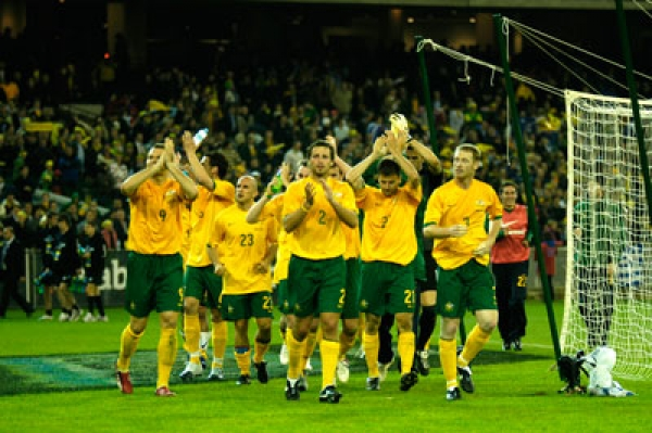 Socceroos turn out for Werribee