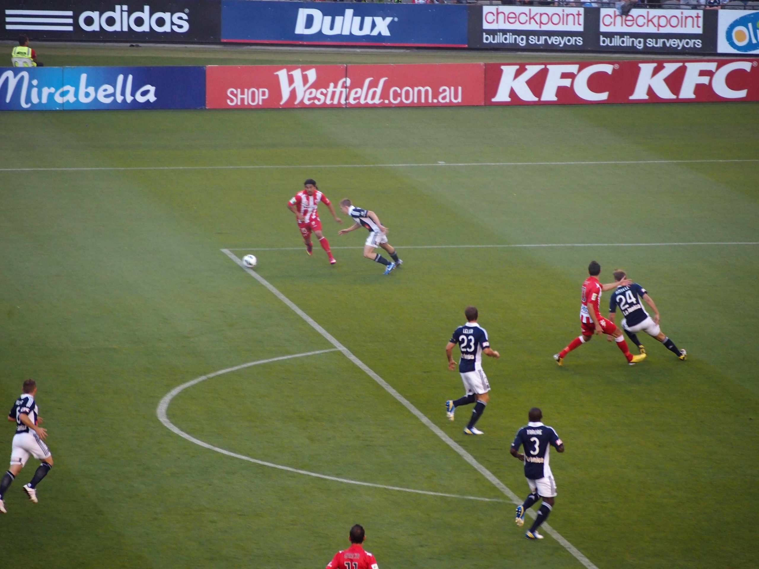 Melbourne Victory win local derby