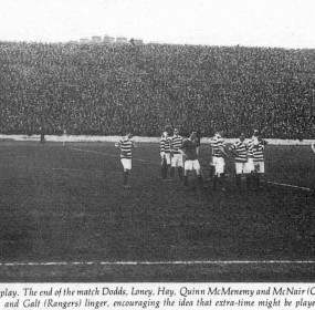 End of 1909 Cup Final replay lr
