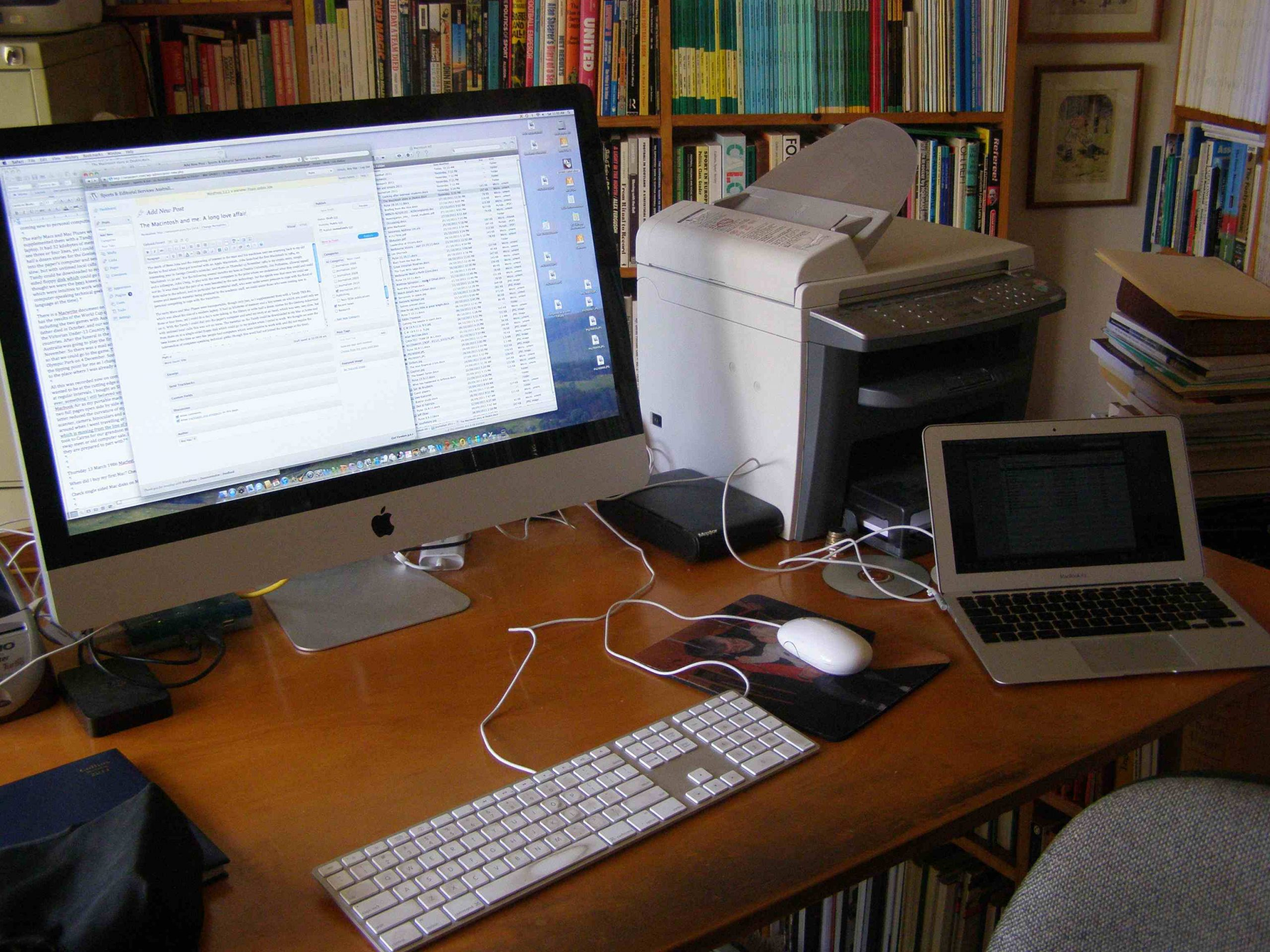 The Macintosh and me: A long love affair