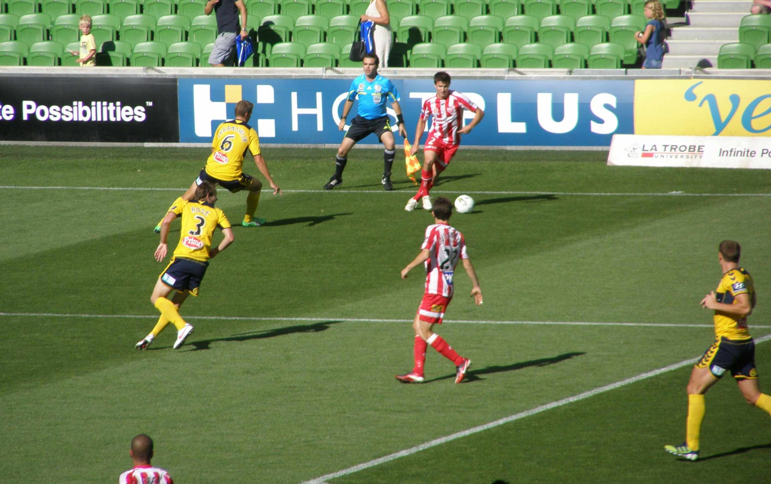 Heart down league leaders on a hot night at AAMI