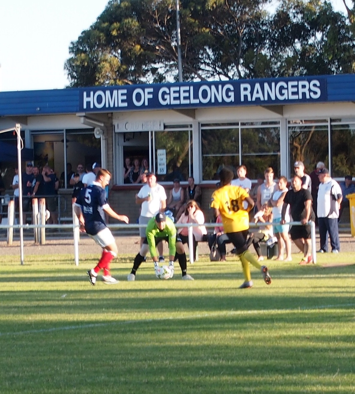 Big wins for hosts and holders in Geelong Cup