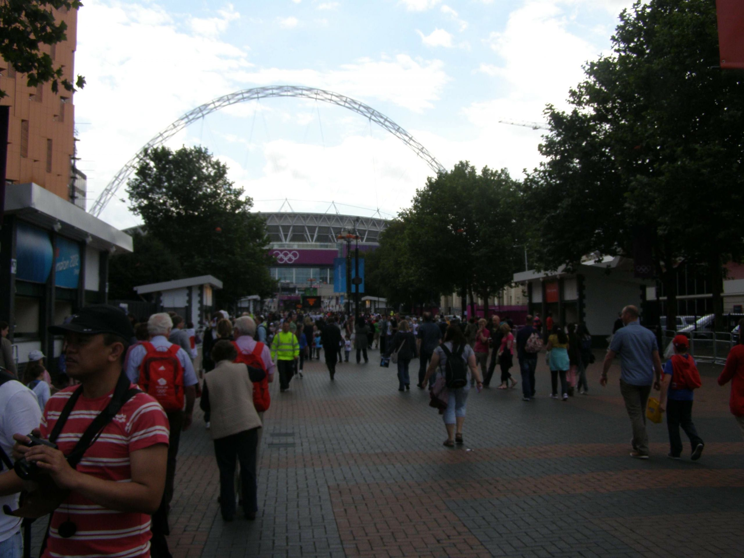 Wembley at last